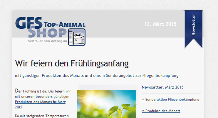 Der GFS Newsletter