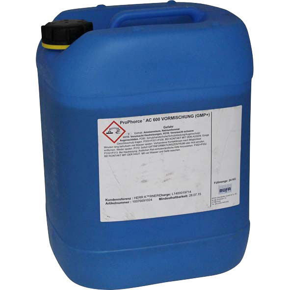 Pro Phorce AC 600 zur Steigerung der Futter- und Tränkehygiene