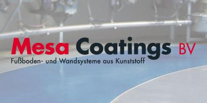 Mesa Coatings BV – Fußboden- und Wandsysteme aus Kunststoff