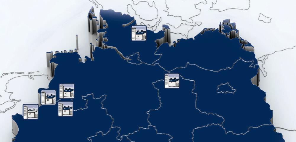 GFS Standorte