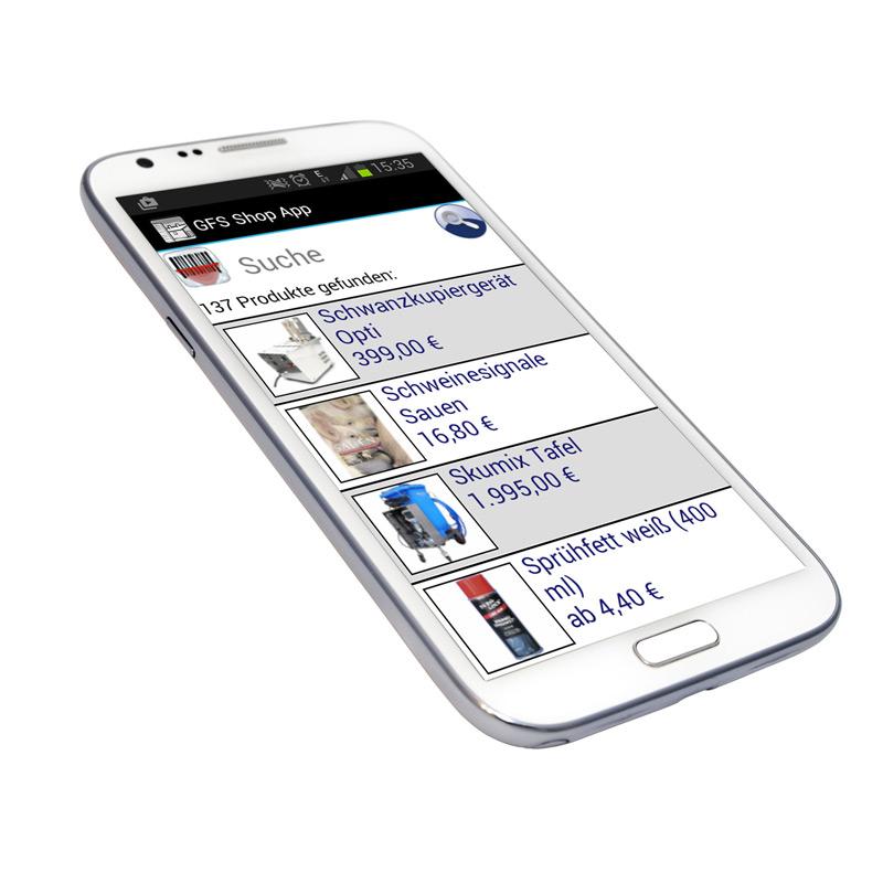 Die GFS TopShop-App
