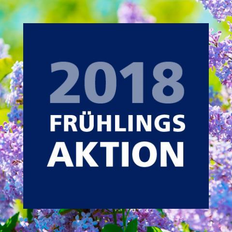 Frühlingsaktion 2018
