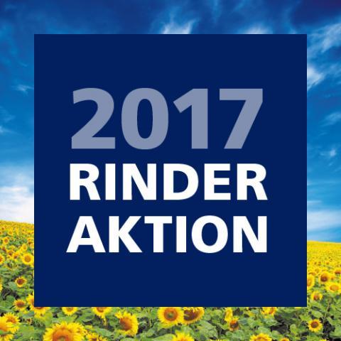 Rinderaktion bis zum 14. Oktober 2017