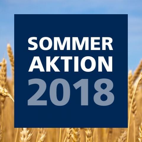 Bis zum 12. August 2018 bieten wir Ihnen Sparpreise bei ausgewählten Artikeln