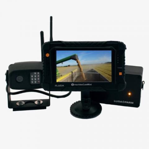 Fahrzeugkamera mit Magnethalterungen