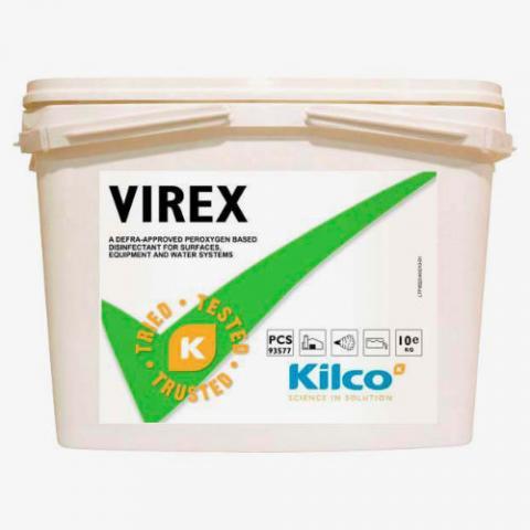 Schnelldesinfektionsmittel Virex