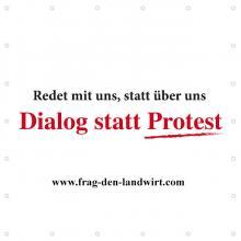 Frag den Landwirt: Dialog statt Protest