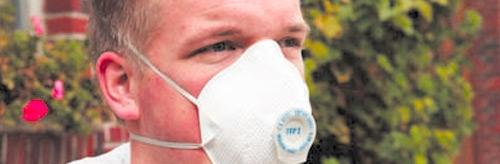 Atem-, Gehör- und Augenschutz