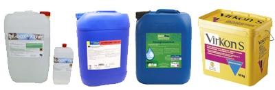 Tränkewasserdesinfektion