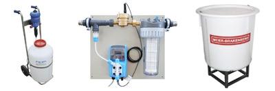 Dosiertechnik für Wasserleitungen