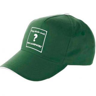 Basecap grün - Wir machen euch satt! #1