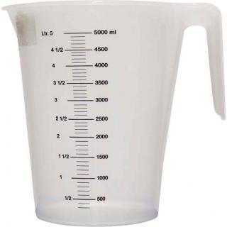 Messbecher 5,0 Liter mit Skala