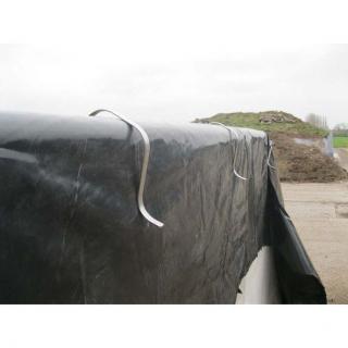 Wandklammer kurz 8 - 15 cm Breite (4 Stk) #15