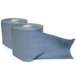 Putzpapierrolle Mini blau - Doppelpack (2 Stk) #1