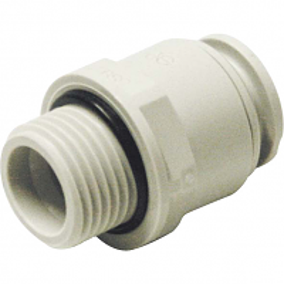 Kunststoff Verb. AG 15mmx1/2 AG (10 Stk) #1