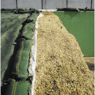 Siloschutzgitter 6 m x 8 m grün #1