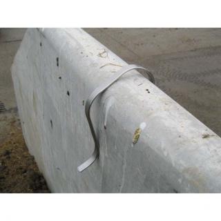 Wandklammer lang 15 - 20 cm Breite (4 Stk) #4