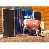 PVC Lamellenvorhang-Set 3 m #1