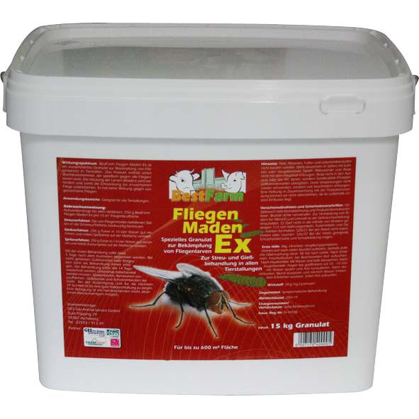 Fliegen Maden Ex (15 kg)