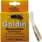 Goldin Wespenfalle 3-er Nachfüllpack