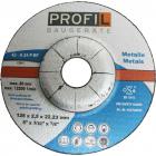 Profil Trennsch. für Metall 125 mm (25 Stk)