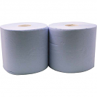 Putzpapierrolle Mini blau - Doppelpack (2 Stk)
